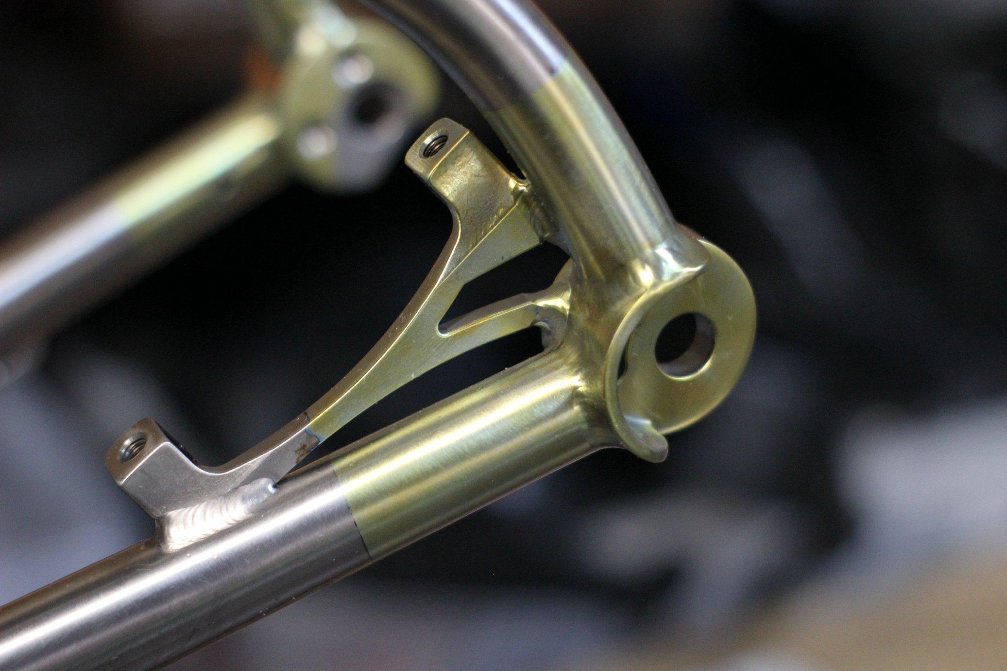 AUREN Eagle Hardtail Titanium Bike Rear Dropout